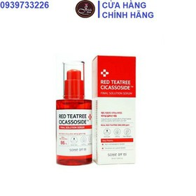 Tinh Chất Some By Mi Red Teatree Cicassoside Final Solution Serum 50ml - Serum Red Some By Mi