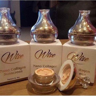 [FREE SHIP] Kem Chống Nắng Wise Nano Collagen Sunscreen sản phẩm bán chạy số 1 Thái Lan - chống nắng wise thumbnail