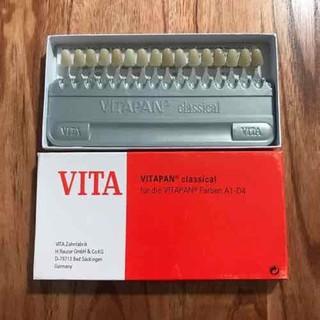 Bảng so màu răng VITAPAN, bảng so màu răng Nha Khoa giá rẻ,chất lượng tốt [ĐƯỢC KIỂM HÀNG] 33034118 - 33034118 thumbnail