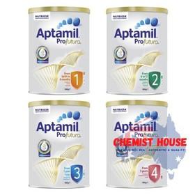 [ Hàng Chuẩn ÚC ] Sữa bột Aptamil Profuta 1-2-3-4 900g cho bé - Aptamil Profuta 1-2-3-4 900g