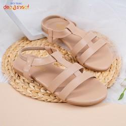 Giày sandal nữ hậu thun big size thời trang học sinh