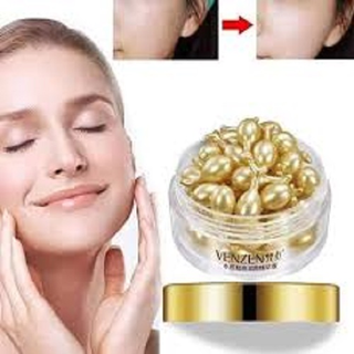 [GIÁ SIÊU HỜI- MPVC] 2 HỘP 60 VIÊN serum Tinh chất ngọc trai Venzen CHỐNG LÃO HÓA -dưỡng trắng da 30 VIÊN 1 HỘP - 2 HỘP VENZEN thumbnail
