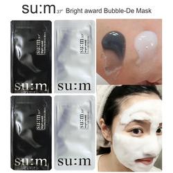 Hàn Quốc Mặt nạ thải độc sum 37 White Award Bubble-De Mask_màu trắng