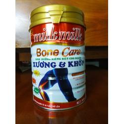 Sữa ăn kiêng người xương khớp, tiểu đường, huyết áp MILKMILKGOLD BONECARE 900G