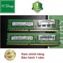 RAM ECC UNBUFFERED 4GB DDR3 (PC3) Bus 1600 và các loại khác, hàng chính hãng, cho máy trạm Worksation, và PC, bảo hành 1 năm