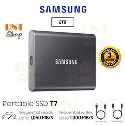 Ổ cứng di động SSD Portable Samsung T7 2TB - USB 3.2 Gen 2  Bảo hành 3 năm 1 đổi 1