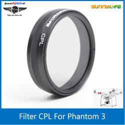 Filter CPL phantom 3 4 - Phụ kiện flycam dji Phantom 3 -