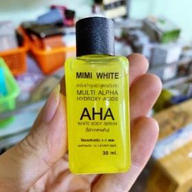 Tinh Chất Mimi White AHA White Body Serum 30ml – LQ331 - 5214sola
