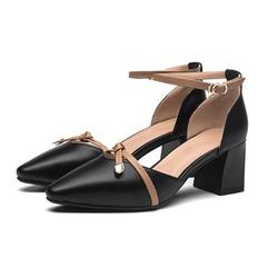 Giày cao gót vuông to A0066
