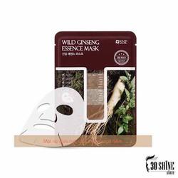 Mặt Nạ Sâm Núi SNP – SNP Wild Ginseng Essence Mask (5 Miếng)