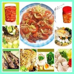 [BAO NGON] Bộ 02 keo mắm tôm chua ngọt Tuyết Linh (Một keo trộn gỏi đu đủ 500g, một keo không trộn gỏi 500g) thơm ngon đậm đà hương vị Miền tây