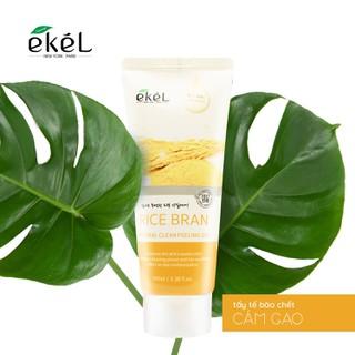 Tẩy tế bào cám gạo Ekel 100ml - Ekel Natural Clean Peeling Gel Rice Bran - Rice- peeling Gel thumbnail