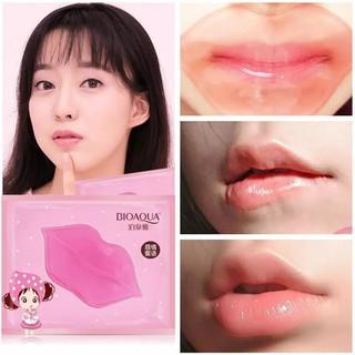 Mặt Nạ Môi BIOAQUA Collagen Nourish Lips Membrane Mask - Dưỡng Ẩm, Chống Thâm Môi- Bộ 3 Miếng - MNM37 thumbnail