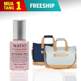 [Freeship 50K] Serum Chống Oxy Hóa Dưỡng Ẩm Natio Rosewater Hydration Antioxidant Serum 30ml - 9316542140137