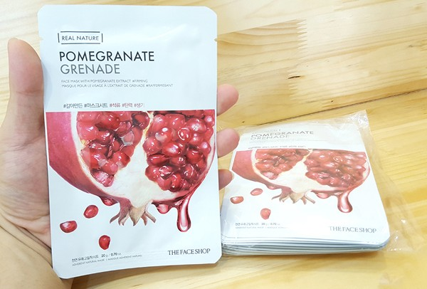 Mặt nạ lựu Real Nature Mask Pomegranate