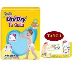 [Tặng 1 khăn ướt baby Unifresh] Tã quần Unidry size M74 - size L68 - size XL62 - size XXL56 - H01