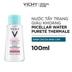 Nước Tẩy Trang Vichy Mineral Micellar Water Pureté Thermale Cho Da Nhạy Cảm 100ml