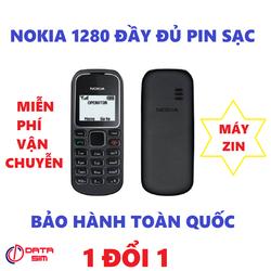 MUA ĐIỆN THOẠI MIỄN PHÍ VẬN CHUYỄN Điện thoại Nokia 1280 máy Zin với đầy đủ pin sạc