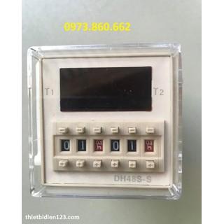 Timer DH48S-S - Timer hẹn giờ chu kỳ lặp lại - DH48S-S thumbnail