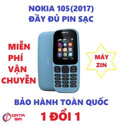 MUA ĐIỆN THOẠI ĐƯỢC MIỄN PHÍ VẬN CHUYỄN Điện thoại nokia 105(2017) máy zin ĐẦY ĐỦ PIN SẠC