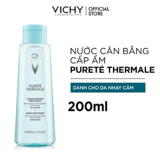 Nước Cân Bằng Cấp Ẩm Dành Cho Da Nhạy Cảm Vichy Purete Thermale Perfecting Toner 200ml - 3337871330569 1