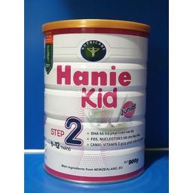 Sữa Bột Hanie kid 2 Phát triển não bộ, cân nặng (900g) - Hanie Kid 2 900g