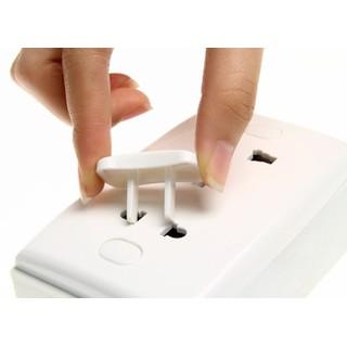 Bộ 10 nút bịt ổ điện bảo vệ an toàn cho bé yêu - AK186 thumbnail