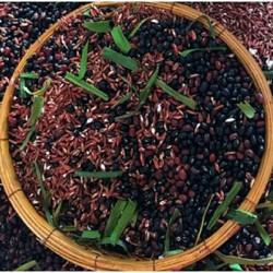 [GIÁ SỈ] Trà gạo lứt đỗ đen đỗ đỏ lá dứa thơm rang sẵn mát gan, chắc khỏe xương, giảm cân, lợi sữa sau sinh (1kg)