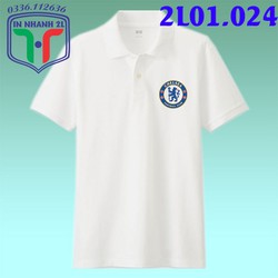 Áo thun cổ trụ Nam Nữ in hình theo yêu cầu Logo Chelsea - 2L01.024