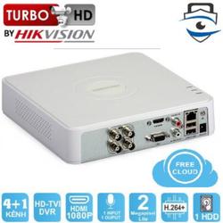 Đầu Ghi Hình 4 Kênh HIKVISION DS-7104HGHI-F1 TURBO 3.0 HD DVR 2MP LITE  - Chính Hãng, Bảo Hành 24 Tháng