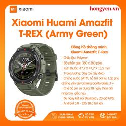 Đồng hồ thông minh Xiaomi Amazfit T-REX - Hàng Chính Hãng - Bảo hành 12 tháng