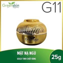 Greenskin Organic G11 mặt nạ ngủ tinh chất vàng 25g