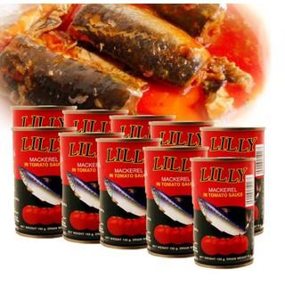 Combo 10 Hộp Cá Trích Sốt Cà Lilly 155g [ĐƯỢC KIỂM HÀNG] 33227421 - 33227421 thumbnail