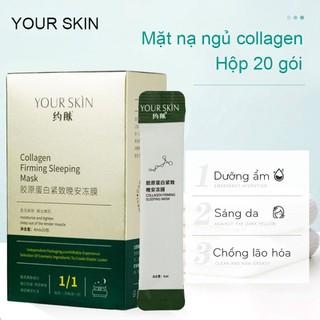 [HỘP 20 GÓI] Mặt nạ ngủ collagen YOUR SKIN dạng gel dưỡng ẩm chống lão hóa làm sáng da mặt nạ ngủ cấp ẩm mặt nạ nội địa Trung mặt nạ ngủ dưỡng trắng - JS-MN301 thumbnail