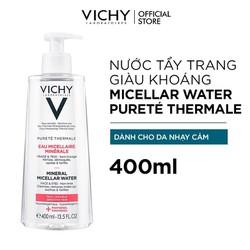 Nước Tẩy Trang Vichy Mineral Micellar Water Pureté Thermale Cho Da Nhạy Cảm 400ml
