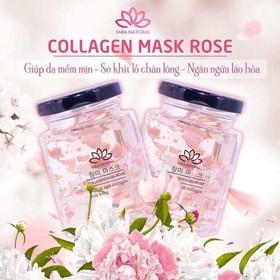Combo 2 Lọ Mặt Nạ Yến Tươi Collagen Mask Rose - CBMN