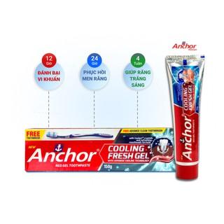 Combo 8 hộp Kem đánh răng cho Răng nhạy cảm Anchor Cooling Fresh Gel - 150g Thương Hiệu Anh Quốc tặng kèm bàn chải - 75645342 thumbnail