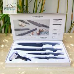 Bộ dao nhà bếp 5 món Locku0026Lock Cookplus CKK101S5BLK