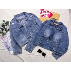 Áo khoác jean nữ form vừa 57Kg  cao cấp bao đẹp kiểm hàng mẫu Polorom, 9 mẫu áo jean đỉnh
