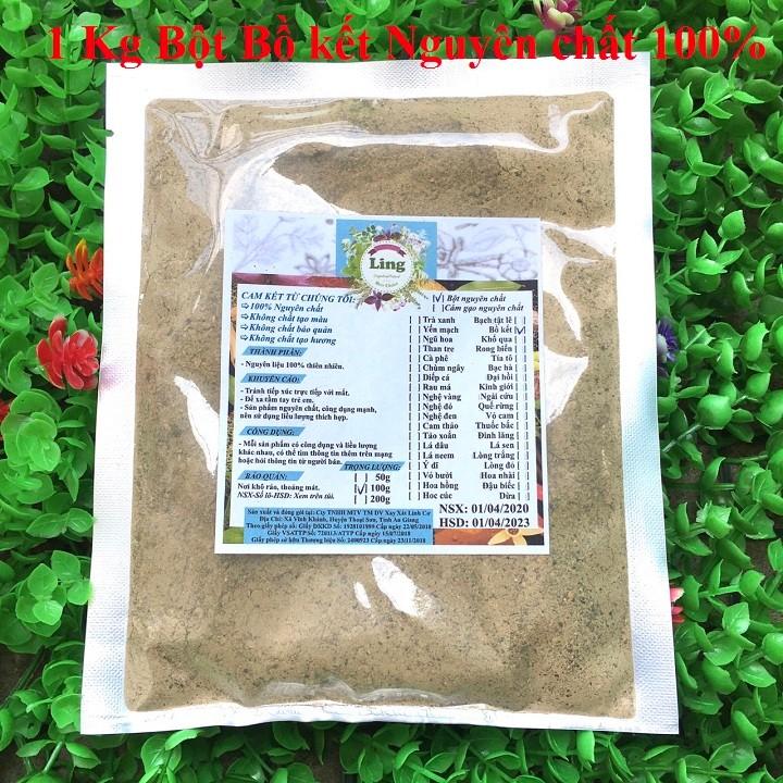Bột Bồ Kết 1 Kg có giấy VSATTP và ĐKKD nguyên chất thiên nhiên 100% dùng để đắp mặt đa công dụng