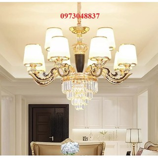 Đèn chùm pha lê LED cao cấp 12 tay - ĐC 21 12 thumbnail