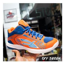 Giày bóng chuyền, bóng rổ chuyên dụng Beyono Skyderam màu cam