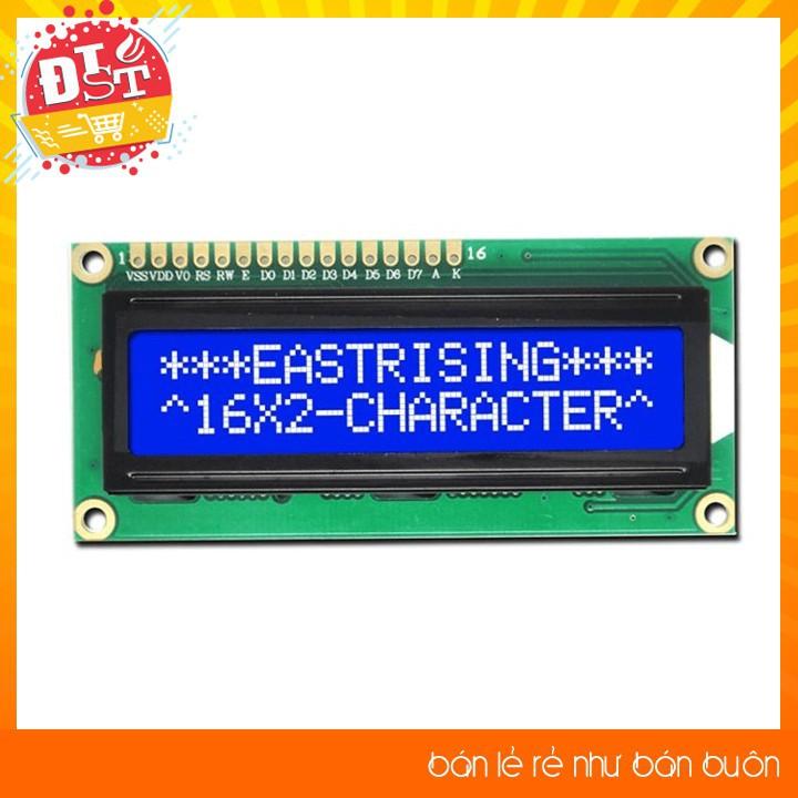 LCD Text LCD1602 Xanh Dương