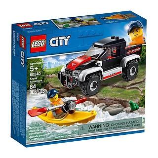 Mô hình Lego City - Chuyến Phiêu Lưu Cùng Thuyền Kayak 60240 - 7653012678489 thumbnail
