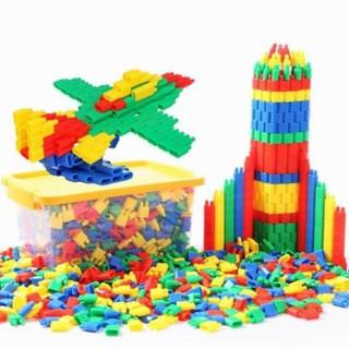 Bộ xếp hình phát triển trí tuệ 400 chi tiết cho trẻ - 400CT thumbnail