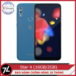 Điện thoại Vsmart Star 4 - RAM 2GB - Bộ nhớ 16GB - Hàng Chính Hãng - Vsmart Star 4 - RAM 2GB - Bộ nhớ 16GB