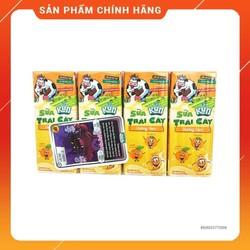 2 vỉ 8 Hộp Sữa Trái Cây Kun Hương Cam/ Trái CâyX 180Ml