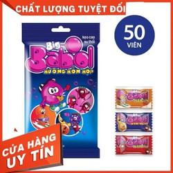 Kẹo Cao Su Hương Trái Cây Big Babol Gói 170G 50 Viên