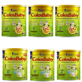 [NHẬP MÃ SD114B GIẢM CÒN 380K]Sữa NonVitadairy Colosbaby Gold số 0 - 1-2 800g, Sữa non Vitadairy colosbaby GOLD IQ Số 0-1[date T3.2022] - COLOSBABY