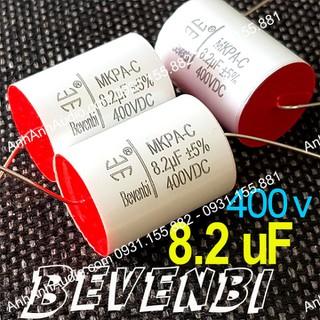 Tụ phân tần loa 8.2 mi 400v Bevenbi xịn - bvb thumbnail